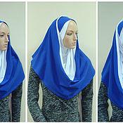 Платки ручной работы. Ярмарка Мастеров - ручная работа Головные уборы: Хиджаб Амирка-хомут. Handmade.