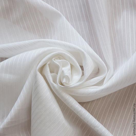 Шитье ручной работы. Ярмарка Мастеров - ручная работа. Купить Рубашечная  ткань в  полоску (two-fold cotton)  Camicissima. Handmade.