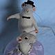"""Игрушки животные, ручной работы. Ярмарка Мастеров - ручная работа. Купить """"Нежность"""". Handmade. Мышь, танцующие крысы, кружево"""