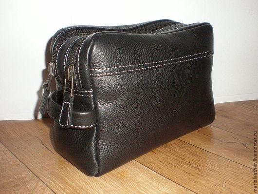 Мужские сумки ручной работы. Ярмарка Мастеров - ручная работа. Купить Мужская сумка-2. Handmade. Черный, мужской подарок