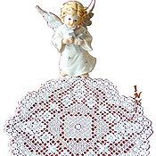 Для дома и интерьера handmade. Livemaster - original item Doily lace lace angel hand embroidery. Handmade.