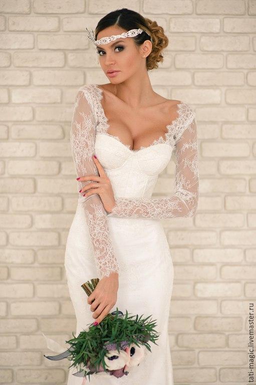 Купить свадебное платье из шелка