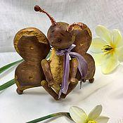 Куклы и игрушки ручной работы. Ярмарка Мастеров - ручная работа Деревянные бабочки. Handmade.