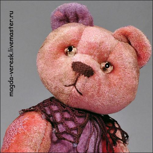 Мишки Тедди ручной работы. Ярмарка Мастеров - ручная работа. Купить Камилла. Handmade. Мишки тедди, винтаж, мишка-девочка