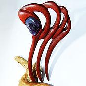 Украшения handmade. Livemaster - original item Barrette made of wood