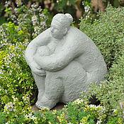 Для дома и интерьера handmade. Livemaster - original item Ideal forms No. №2 concrete figurine figure of a woman. Handmade.