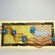 Открытки ручной работы. Ярмарка Мастеров - ручная работа Веселая открытка. Handmade.