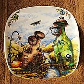 Посуда ручной работы. Ярмарка Мастеров - ручная работа Теория крошечного взрыва. Handmade.
