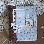 Канцелярские товары handmade. Livemaster - original item Diary for mom