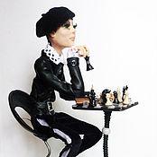 Куклы и игрушки ручной работы. Ярмарка Мастеров - ручная работа Шахматист. Handmade.