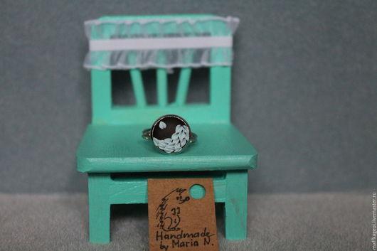 Кольца ручной работы. Ярмарка Мастеров - ручная работа. Купить Кольцо Инь-Янь. Handmade. Мятный, пластика