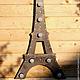 Освещение ручной работы. Светильник Эйфелева башня Eiffel Tower. WOODANDROOT. Интернет-магазин Ярмарка Мастеров. Париж, путешествие, дерево