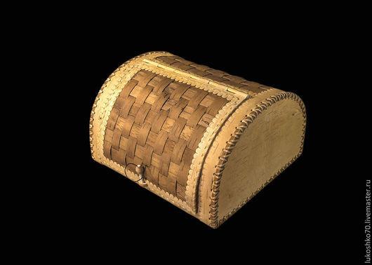 Кухня ручной работы. Ярмарка Мастеров - ручная работа. Купить Хлебница из бересты плетеная полукруглая. Handmade. Хлеб, береста