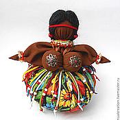 """Куклы и игрушки ручной работы. Ярмарка Мастеров - ручная работа Травница """"Мулатка-Шоколадка"""". Handmade."""