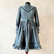 Одежда handmade. Livemaster - original item Wool dress in Lolita style. Handmade.