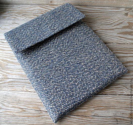 Сумки для ноутбуков ручной работы. Ярмарка Мастеров - ручная работа. Купить Чехол для iPad. Handmade. Тёмно-синий, чехол для планшета