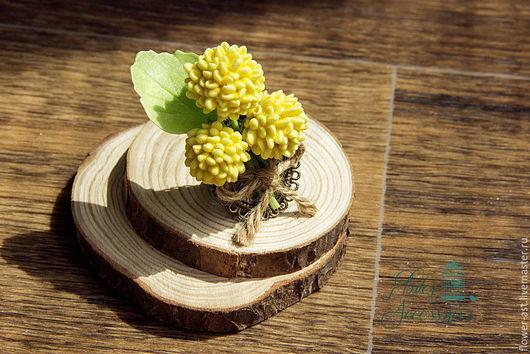 """Кольца ручной работы. Ярмарка Мастеров - ручная работа. Купить Кольцо """"Краспедия"""". Handmade. Желтый, кольцо ручной работы"""