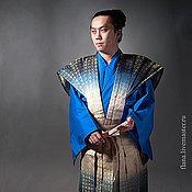 Одежда ручной работы. Ярмарка Мастеров - ручная работа Катагину камисимо (японский самурайский костюм). Handmade.