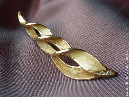 Винтажные украшения. Ярмарка Мастеров - ручная работа. Купить Винтажная брошь ,Япония. Handmade. Винтажная брошь, винтажная брошь стразы