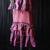 Одежда ручной работы. Ярмарка Мастеров - ручная работа юбка Бордо. Handmade.