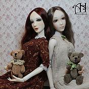 Куклы и игрушки handmade. Livemaster - original item Pauline and Lara (37/38 cm). Handmade.