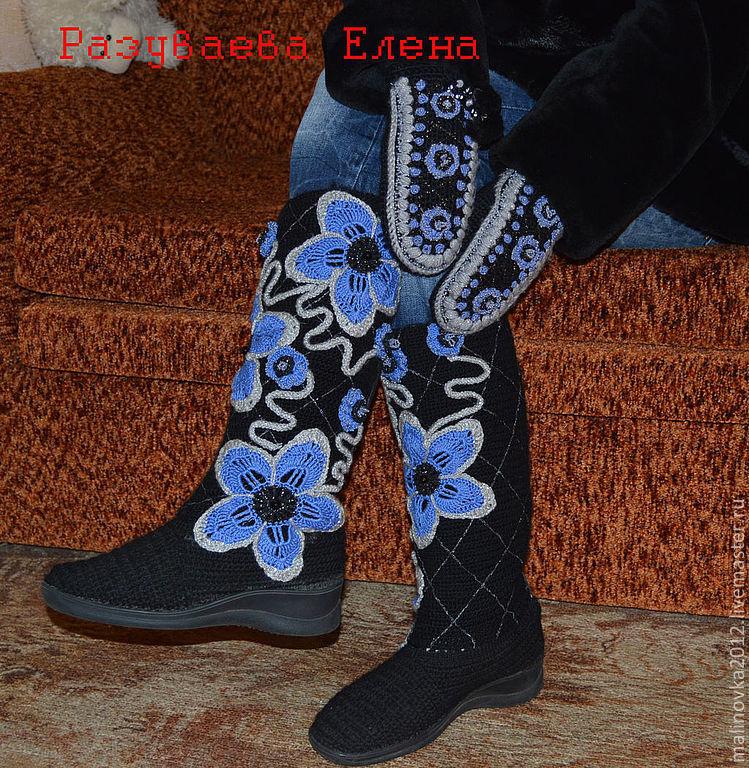3cbb001708bd Обувь ручной работы. Ярмарка Мастеров - ручная работа. Купить сапожки вяз