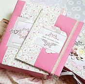 Подарки к праздникам ручной работы. Ярмарка Мастеров - ручная работа Подарочный набор для девочки розовый,подарок новорожденной.. Handmade.