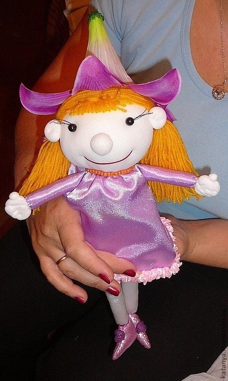 """Сказочные персонажи ручной работы. Ярмарка Мастеров - ручная работа. Купить Кукла.""""Дюймовочка"""". Handmade. Дюймовочка, подарок на день рождения"""