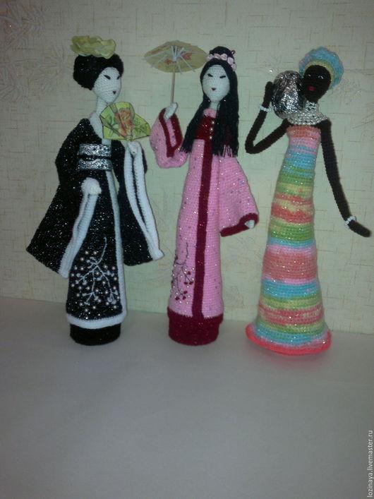 Человечки ручной работы. Ярмарка Мастеров - ручная работа. Купить Восточные красавицы. Handmade. Комбинированный, куклы в восточном стиле, цветы