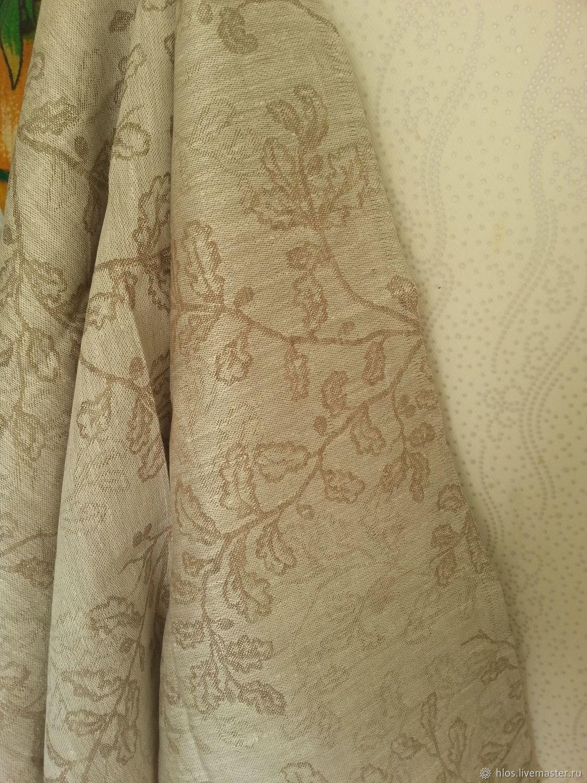 Linen bath towel 'oaklets', Towels, Ivanovo,  Фото №1