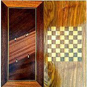Активный отдых и развлечения handmade. Livemaster - original item Backgammon-checkers, made of different types of wood, handmade. Handmade.