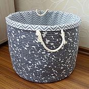 Для дома и интерьера handmade. Livemaster - original item Basket for storage. Handmade.