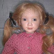 Портретная кукла ручной работы. Ярмарка Мастеров - ручная работа Портретная кукла:Фарфоровая кукла Amponos. Handmade.