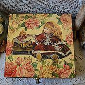 "Шкатулки ручной работы. Ярмарка Мастеров - ручная работа Шкатулка ""Dolly"". Handmade."