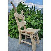 Для дома и интерьера handmade. Livemaster - original item Garden chair made of driftwood and solid pine. Handmade.