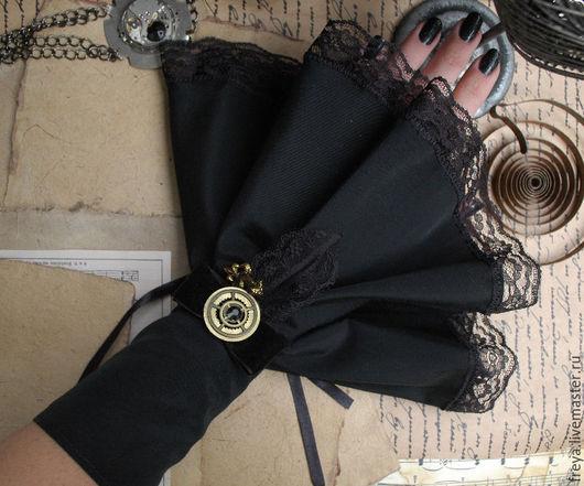 """Варежки, митенки, перчатки ручной работы. Ярмарка Мастеров - ручная работа. Купить Манжеты """" Cassandra"""". Handmade. Манжеты"""