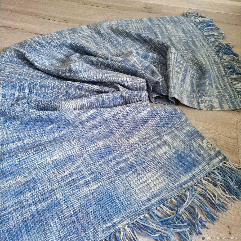 Blue homespun stole, Wraps, Kachkanar,  Фото №1