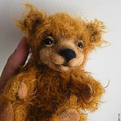 Куклы и игрушки ручной работы. Ярмарка Мастеров - ручная работа мишка тедди Ли. Handmade.