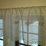 Для дома и интерьера handmade. Livemaster - original item Curtain linen