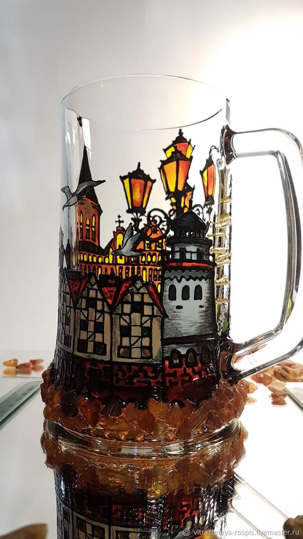Kaliningrad Beer Mug Painting Amber Zakazat Na Yarmarke Masterov L47j0com Kruzhki I Chashki Kaliningrad