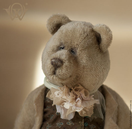 Мишки Тедди ручной работы. Ярмарка Мастеров - ручная работа. Купить Томас (Thomas) мишка тедди. Handmade. Бежевый, ooak