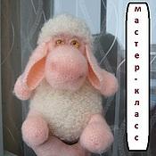 Материалы для творчества ручной работы. Ярмарка Мастеров - ручная работа Мастер-класс овечка Мери. Handmade.