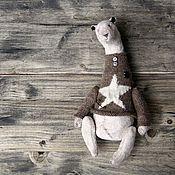 """Куклы и игрушки ручной работы. Ярмарка Мастеров - ручная работа Очень косолапый мишка """"T"""". Handmade."""