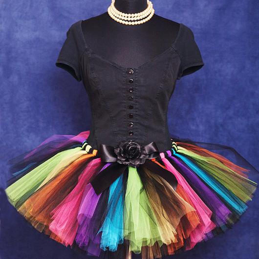 """Юбки ручной работы. Ярмарка Мастеров - ручная работа. Купить """"Веселая карусель"""" взрослая пышная юбка-пачка из фатина. Handmade."""