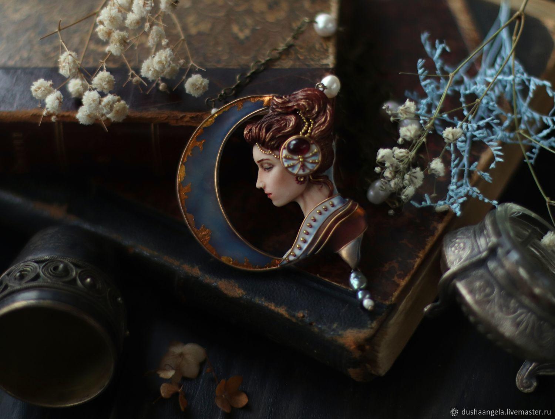 "Колье ""Teya"" скульптура, миниатюра, Колье, Владимир,  Фото №1"