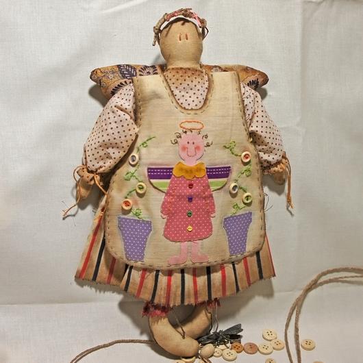 Ароматизированные куклы ручной работы. Ярмарка Мастеров - ручная работа. Купить Чердачный Ангел. Handmade. Разноцветный, примитивы, ароматизированные куклы