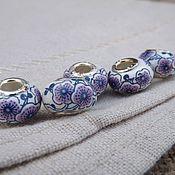 handmade. Livemaster - original item Bead made of ceramic