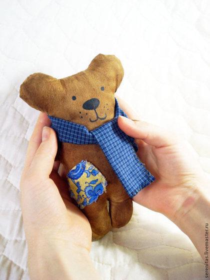 Ароматизированные куклы ручной работы. Ярмарка Мастеров - ручная работа Кофейный мишка (чердачная игрушка). Handmade.