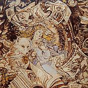 """Картины и панно ручной работы. Ярмарка Мастеров - ручная работа Картина """"В книгах"""". Handmade."""