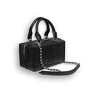 Сумки и аксессуары handmade. Livemaster - original item Handbag made from Python LOTUS. Handmade.